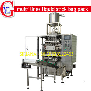 Back Sealing Stick Liquid Sauce Juice Packing Machine pictures & photos