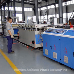 PVC Advertising Board Extrusion Machine pictures & photos
