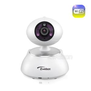 New 720p Pan-Tilt Intelligent WiFi Wireless Robot IP Camera (Q1)