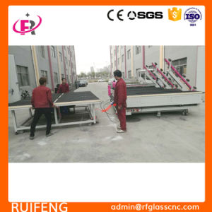 CNC Machine Glass (RF3826CNC) with Breaking Table pictures & photos