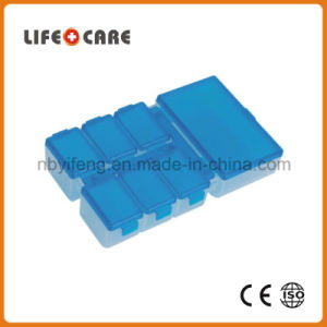 Medical Pillbox with 8 Days /Weekly Plastic Pillbox pictures & photos