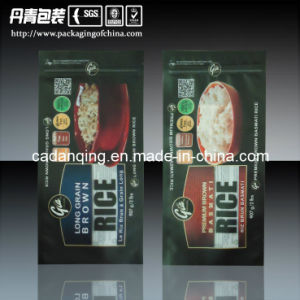 Plastic Packaging Pouch with Zipper Lock for Rice (DQ0047) pictures & photos