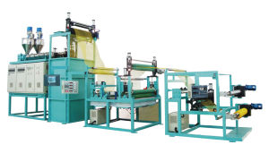 PP in Double Direction Stretch Mesh Extrusion/ Mesh Making Machine (JG-JSW65) pictures & photos