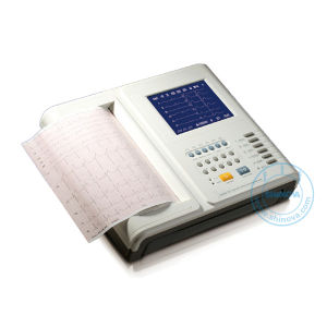 12-Channel Digital Electrocardiograph (ECG-8012L) pictures & photos