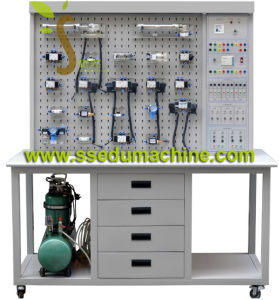 Transparent Pneumatic Training Workbench Pneumatic Trainer Mechatronics Trainer