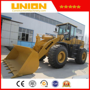 High Cost Performance Sunion Dlz956 Wheel Loader pictures & photos