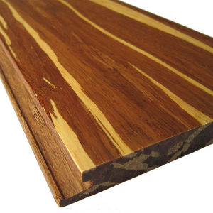 Tiger Strand Woven Solid Bamboo Flooring pictures & photos