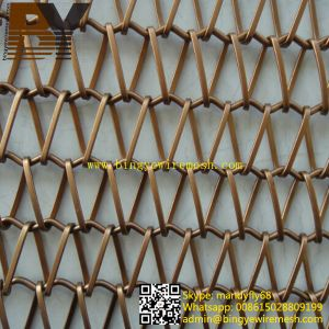 Decorative Mesh Curtain Architectural Partition or Divider Screen pictures & photos