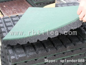 Shock Resistance Rubber Tiles