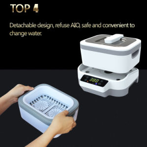 New Design Optical Contact Lense Ultrasonic Cleaner 1.2L with Detachable Tank pictures & photos