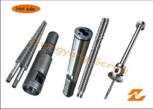 Extruder Bimetallic Screw and Barrel PVC Pipe Extrusion Screw Barrel pictures & photos