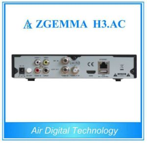 Genuine ATSC DVB-S2 Internet TV Receiver Zgemma H3. AC for Mexico USA Canada Market pictures & photos