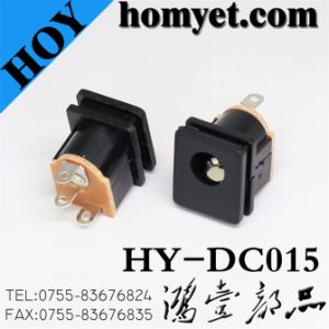 2pin Straight DC Jack/ DC Power Jack (HY-DC015) pictures & photos