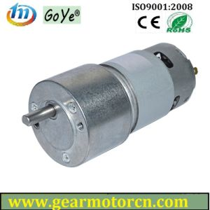 50mm Diameter 9-28V Car Smart 2 Geared Lathe Shutter DC Gear Motor pictures & photos