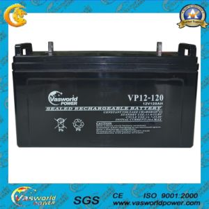 High Quality 12V 120ah Solar Cell Battery pictures & photos