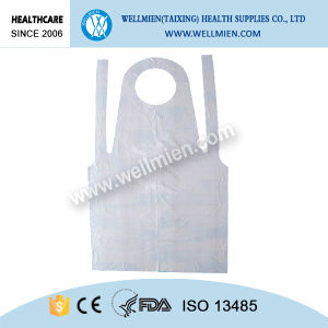 Disposable PE Surgical Apron Waterproof Plastic Aprons pictures & photos