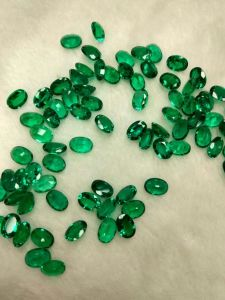 Lab Created Emerald Oval 5X7mm