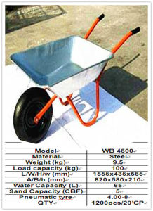 Wheel Barrow (WB4600) pictures & photos