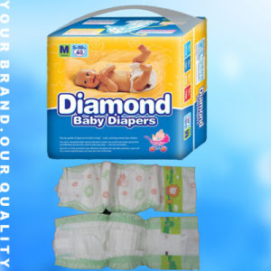 Popular Disposable Baby Diapers With PE Film pictures & photos
