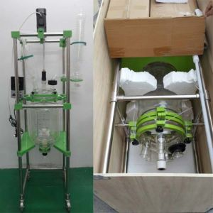 Full Models Jacketed Glass Reactor with CE Confirmed pictures & photos