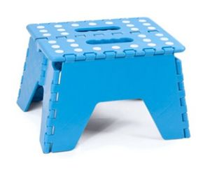 Outdoor Roundness Plastic Foldable Stool Folding Stool for Kids