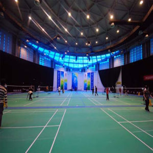 The Professional Manufacturer of PVC Indoor Badminton Flooring with Bwf Certifacation (JYST003) pictures & photos