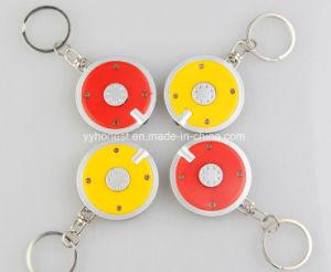 Wholesale Promotional Plastic Mini LED Flashlight Key Chain pictures & photos