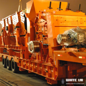 Mobile Impact Crushing Plant, Portable Crusher pictures & photos