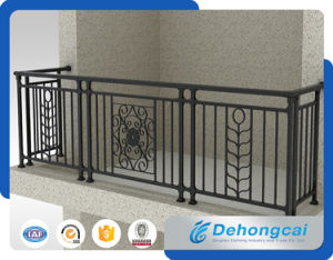 Customed Ornamental Wrought Iron Balcony Fence with High Quality pictures & photos