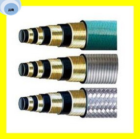 High Quality One High Tensile Steel Wire Braided Steam Hose pictures & photos