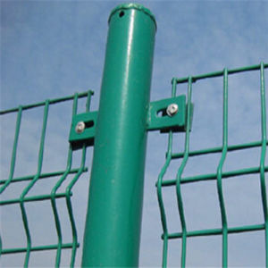 50*200mm PVC Coated Welded Mesh Fence