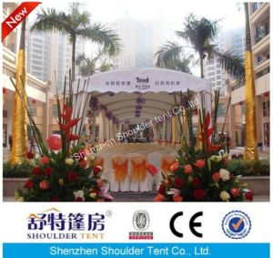 3X18m Event Party Tent with Flower Decoration pictures & photos