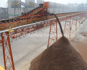 SPD Rubber Belt Conveyor System for Material Handling pictures & photos