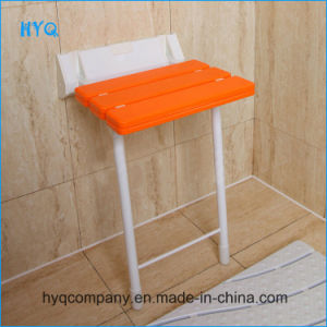 ABS+Aluminium+Stainless Steel Bathroom Furniture Wall Seat Wall Chair pictures & photos