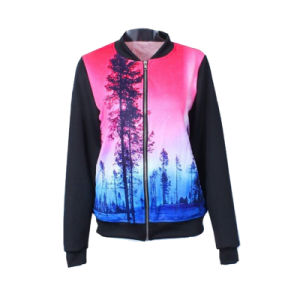 Zipper up Pullover Jacket Hoodie for Men pictures & photos