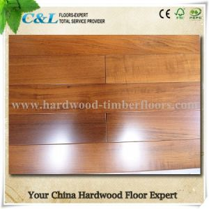 Foshan Factory Best Price Burma Teak Parquet Hardwood Flooring pictures & photos