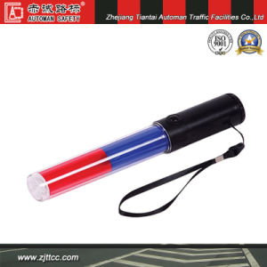Red & Blue LED Flashing Traffic Baton (CC-RB04) pictures & photos