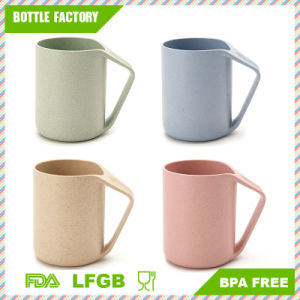 Eco Friendly Healthy Wheat Straw Plastic Mug for Water, Coffee, Milk, Juice pictures & photos