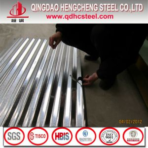 Galvanized Corrugated Steel Sheet for Roofing Tiles pictures & photos