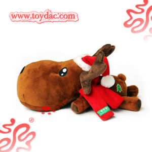 Plush Soft Christmas Reindeer Cushion pictures & photos