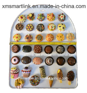 Handy Sculpture Resin Chocolate, Candy and Cakes Refridgerator Promotion Magnet Gifts pictures & photos
