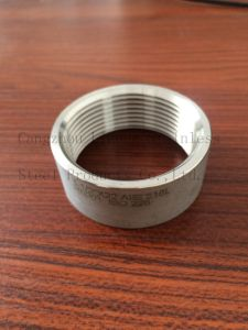 Stainless Steel Pipe Fittings, 316L, ISO228 Half Socket From Pipe pictures & photos