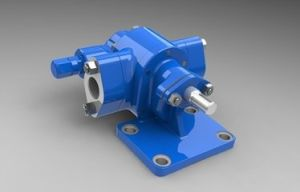 KCB 55 Small Gear Oil Pump for Lubricating Oil pictures & photos