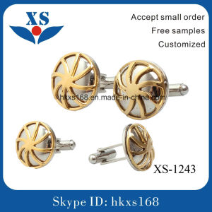 Best Selling Fashion Wholesale Classic Wedding Cufflink pictures & photos