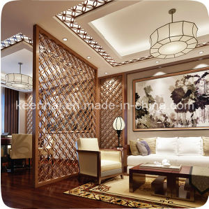 Laser Cut Decorative Stainless Steel Room Divider pictures & photos