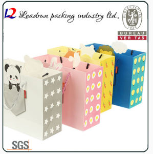 Paper Shopping Gift Present Promotional Coated Art Paper Carrier Carton Picture Packing Bag for Kids/Child (Y10A) pictures & photos