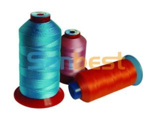 High Tenacity Polyester Multi-Filaments Sewing Thread for Seat Belts pictures & photos
