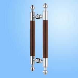 Quality Stainless Steel Glas Pull Door Handle (FS-1829) pictures & photos