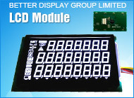 Va Negative Blackground LCD Used in Electronic Scale LCD Module pictures & photos