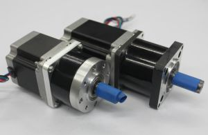 NEMA 23 Stepper Motor with 56mm Planetary Gear Box pictures & photos